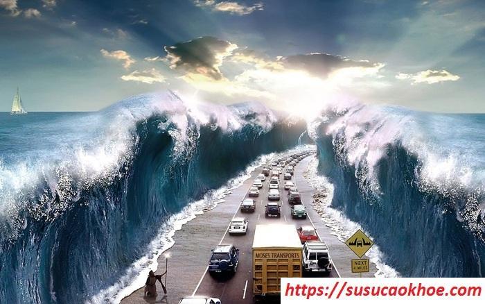 Nằm mơ thấy sóng thần là điềm gì, đánh con gì?